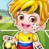 Baby Hazel Football Player