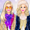 Barbie Winter Glitter Trends