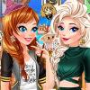 Disney Princesses Wizarding School