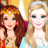 Ice Princess Vs Fire Princess