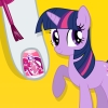 My Little Pony Sparkling Nails