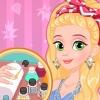 Rapunzel Matching Nails And Dress