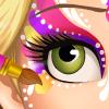 Rapunzel Face Painting