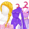 Rapunzel's Perfect Purple Dress